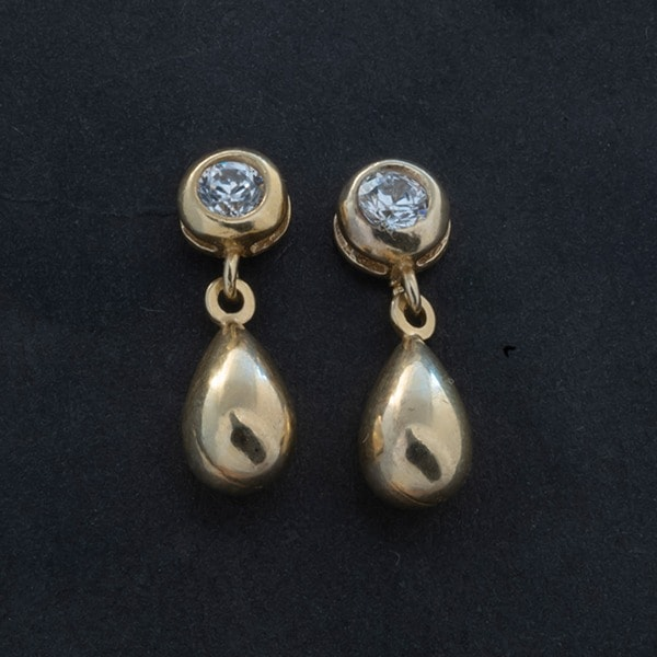 Gold-Plated Silver Earring 0111