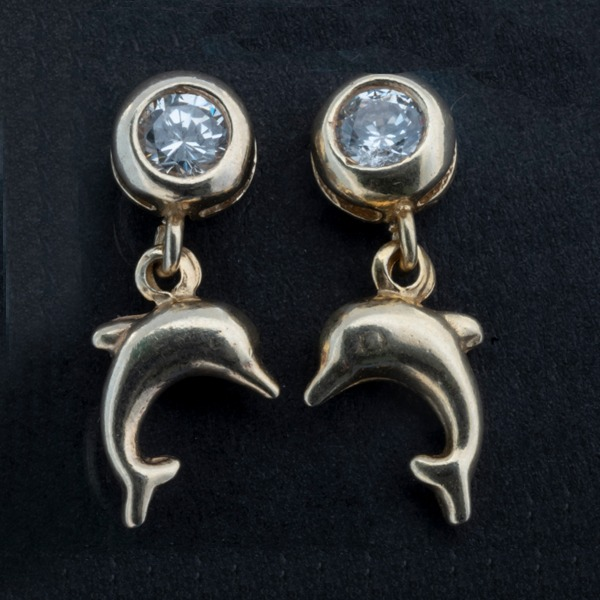 Gold-Plated Silver Earring 0099