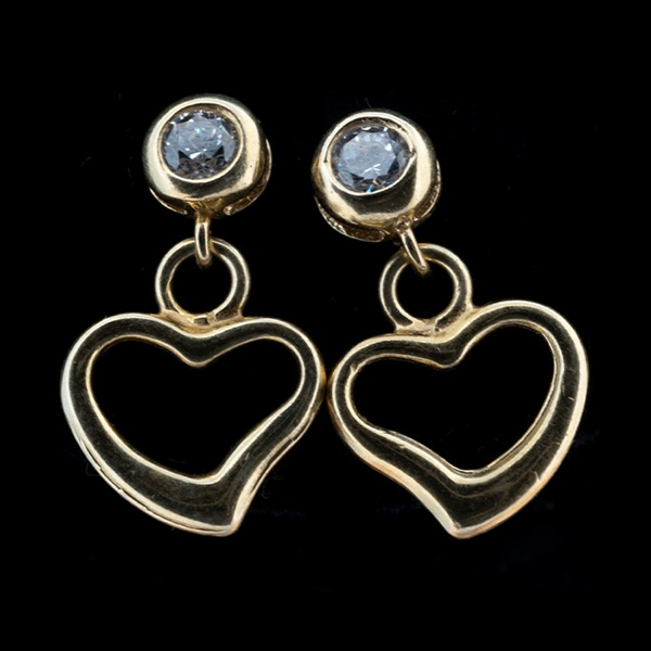 Gold-Plated Silver Earring 0088